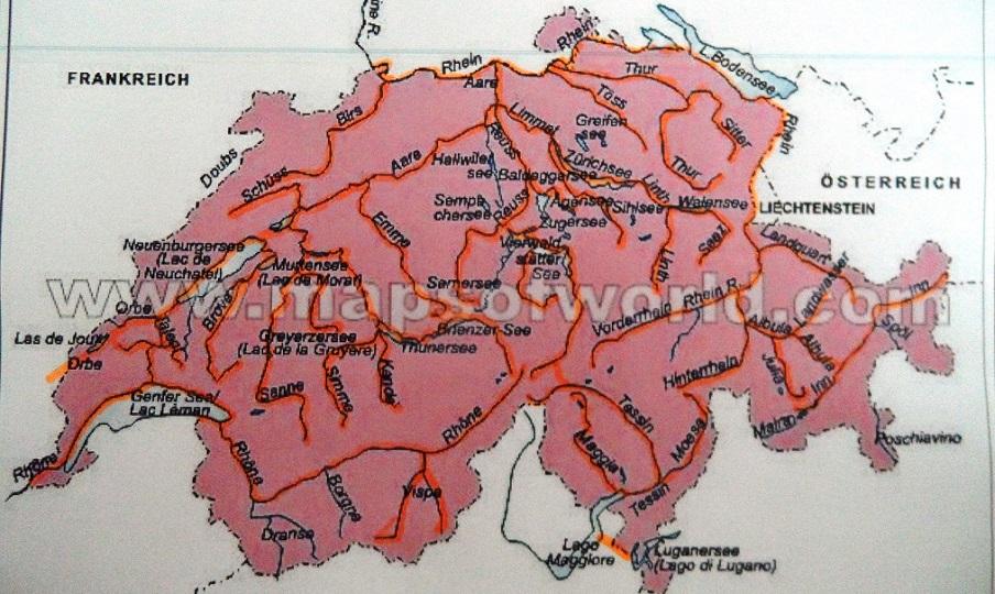 flüsse in frankreich